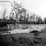 Дървено мостче в Борисовата градина, 30-те години на ХХ век