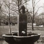 София, чешма с фигура на маймунка, Борисовата градина, 30-те години на ХХ век
