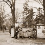 София, голямата чешма в Борисовата градина, 30-те години на ХХ век