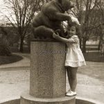 София, Борисовата градина, чешмата с мечката, 50-те години на ХХ век